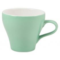 Genware Tulip Cup Green 35cl-12.25oz