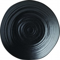 "Utopia Tribeca Ebony Plate 21cm-8.25"""