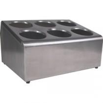 Berties Stainless Steel 6 Slot Cutlery Dispenser