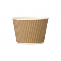 Berties Kraft Squat Ripple Pot 16oz