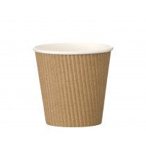 Berties Kraft Ripple Pot 19oz