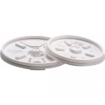 Berties Lids For 8oz EPS Cup White