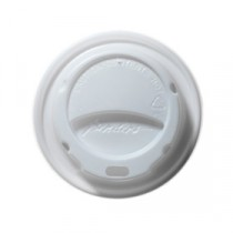 Berties Domed Lid for Hot Cup White 8/9oz