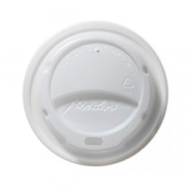 Berties Domed Lid for Hot Cup White 12/16oz
