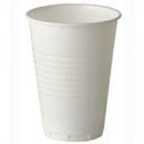 Berties White Tall Plastic Vending Cup 7oz