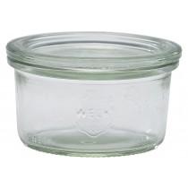Weck Jar & Lid 16.5cl/5.8oz 8cm Dia