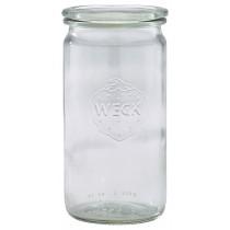 Weck Cylindrical Jar & Lid 34cl/12oz