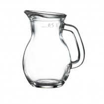 Berties Classic Glass Jug 0.5L/17.5oz