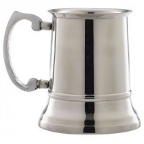 Berties Stainless Steel Beer Tankard 45cl/15.75oz
