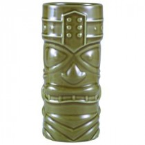 Berties Green Tiki Mug 40cl/14oz