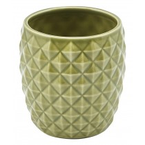 Genware Pineapple Tiki Mug Green 40cl-14oz
