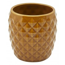 Genware Pineapple Tiki Mug Brown 40cl-14oz