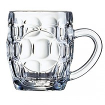 Arcoroc Britannia Dimple Beer Tankard 29cl/10oz