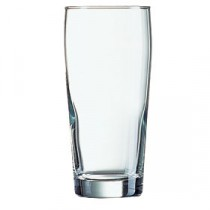 Arcoroc Willi Becher Beer Glass 33cl/11.5oz LCE 10oz