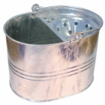 Berties Galvanised Mop Bucket 15Ltr
