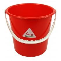 Berties Round Bucket Red 9Ltr