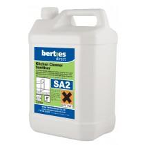 Berties SA2 Kitchen Cleaner Sanitiser