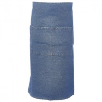 Genware Washed Denim Waist Apron 90x70cm