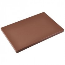 Genware Brown Chopping Board 450x300x25mm