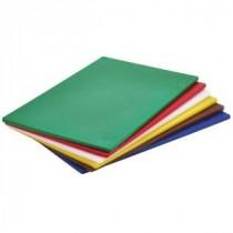 Genware Green High Density Chopping Board 450x300x12.5mm