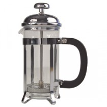 Genware Pyrex Chrome Finish Cafetiere 6 Cup