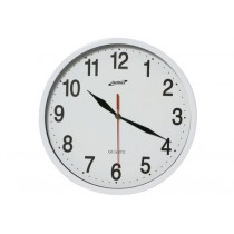 Genware Kitchen Wall Clock 24cm dia