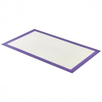 Genware Non-Stick Baking Mat Purple 585x385mm