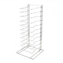 Genware Pizza Pan Rack - Stand 11 Shelf
