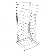 Genware Pizza Pan Rack - Stand 15 Shelf
