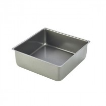Genware Carbon Steel Non-Stick Square Cake Pan 20x7cm