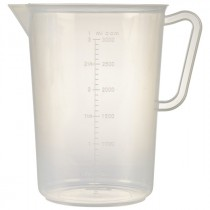 Berties Polypropylene Measuring Jug 3L