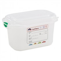 Berties Gastronorm Storage Box 1/9 100mm Deep 1L