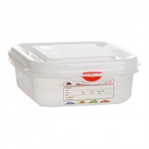 Berties Gastronorm Storage Box 1/6 65mm Deep 1.1L