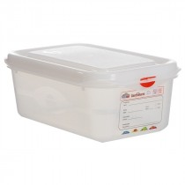 Berties Gastronorm Storage Box 1/4 100mm Deep 2.8L