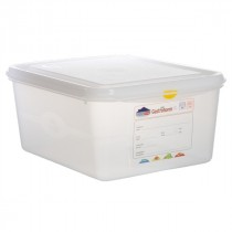 Berties Gastronorm Storage Box 1/2 150mm Deep 10L