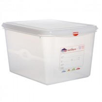 Berties Gastronorm Storage Box 1/2 200mm Deep 12.5L