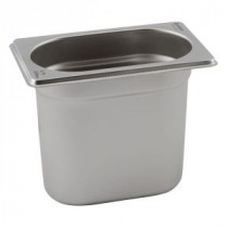 Genware Stainless Steel Gastronorm 1-9 100mm Deep