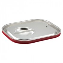 Genware Stainless Steel Gastronorm Sealing Pan Lid 1/2