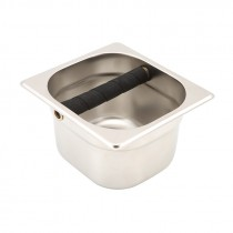 Genware Stainless Steel Gastronorm 1/6 Knockout Pot with Fix