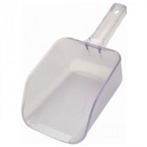 Genware Clear Flat Bottom Scoop 32oz