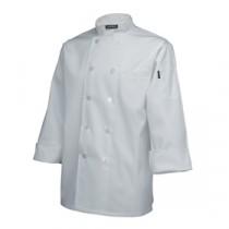 "Genware Standard Chef Jacket Long Sleeve White M 40""-42"""