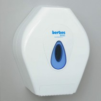 Berties Modular Mini Jumbo Toilet Roll Dispenser White