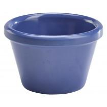 Genware Melamine Smooth Ramekin Blue 4.3cl-1.5oz