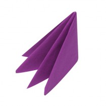 Swantex Purple Dinner Napkin 3 ply 40cm