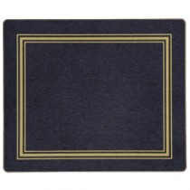 "Berties Melamine Standard Placemat Blue 19x24cm/7.5x9.5"""