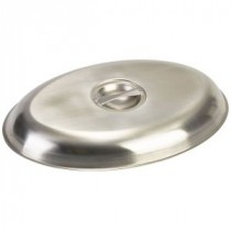 Genware Stainless Steel Cover for Oval Vegetable Dish 350mm