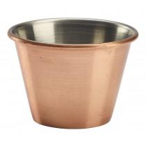 Genware Copper Plated Ramekin 7cl-2.5oz