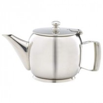Genware Stainless Steel Premier Teapot 40cl