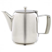 Genware Stainless Steel Premier Coffee Pot 100cl