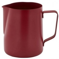 Genware Non-Stick Milk Jug Red 600ml-20oz